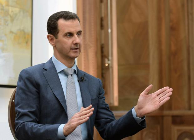 Syria decried a US missile strike early Friday, April 7, 2017 on a government-controlled air base where US officials claim the Syrian military launched a deadly chemical attack (SANA via AP, File)