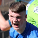 Glenavon's Jordan Jenkins. Photo: By Declan Roughan
