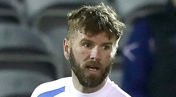 Familiar face: Paddy McCourt will play former side Derry. Photo: Morgan Treacy/INPHO