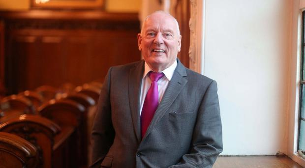 Politician and gay rights campaigner Jeff Dudgeon