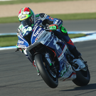 Top drawer: Davide Giugliano will be in action over the weekend for Ulster team Tyco BMW