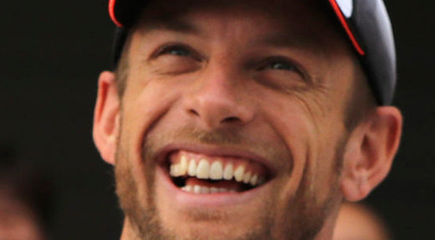 Delighted: Jenson Button will compete in Monaco Grand Prix