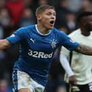 Straight ahead: Martyn Waghorn believes Rangers overplayed under Mark Warburton