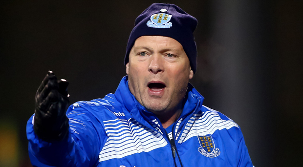 Final setback: Ballymena United manager David Jeffrey can't understand why the price of Irish Cup Final tickets had to be raised so drastically
