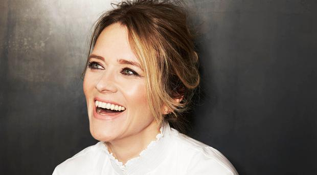 Happy mum: Edith Bowman shuns the stereotypical DJ image