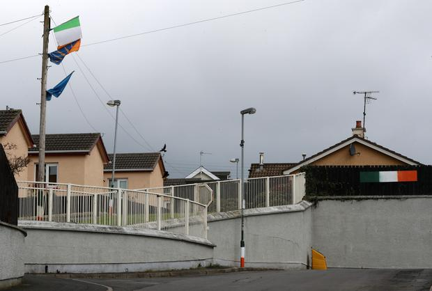 A 30-year-old man has been shot at by a masked gang in Dungannon, Co Tyrone. Photo: Press Eye