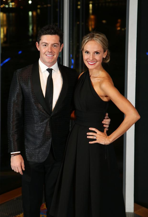 Wedding bells: Rory McIlroy and Erica Stoll