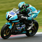 On track: Northern Ireland's David Allingham in action at Brands Hatch
