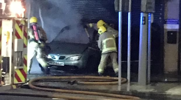 Five cars gutted in spate of arson attacks in Larne