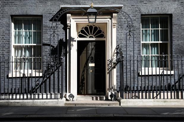 10 Downing Street prior to an announcment by Prime Minister Theresa May on April 18, 2017 in London, United Kingdom. (Photo by Dan Kitwood/Getty Images)