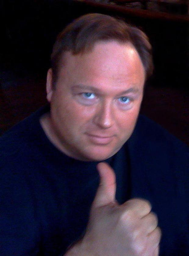 Alex Jones's wife said he was 'not stable'. Image: Zach Copley/Wikipedia