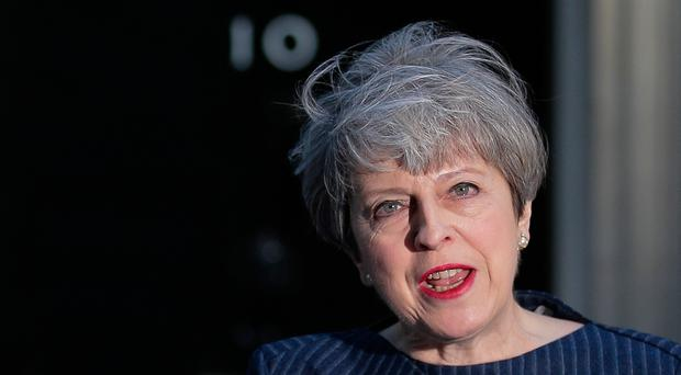 Prime MinisterTheresa May calls for an early general election on June 8 in a surprise announcement. Photo: Daniel Leal/Getty Images