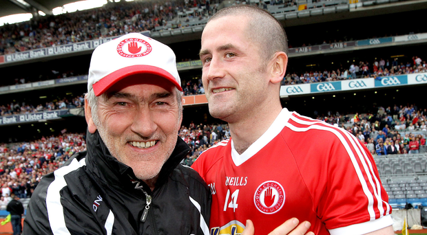 Fan appeal: Stephen O'Neill wants the Tyrone support out in force. Photo: Ryan Byrne/INPHO
