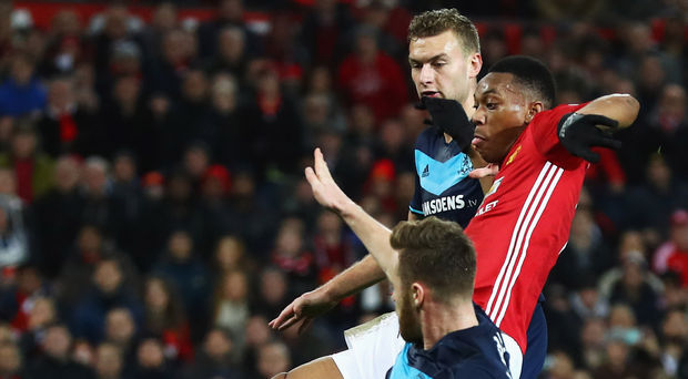 Frustrating: Anthony Martial has failed to shine. Photo: Matthew Lewis/Getty Images