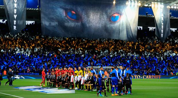 Eye of the fox: The fairytale journey comes to an end for Leicester City. Photo: Richard Heathcote/Getty Images