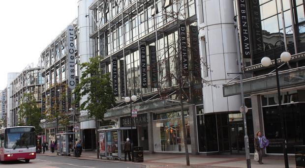 CastleCourt is one of five Debenhams outlets in Northern Ireland