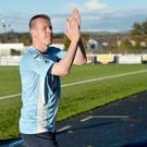 Big milestone: Allan Jenkins is loving his time at Ballymena
