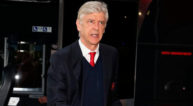 Silent game: Arsene Wenger is keeping quiet over his future