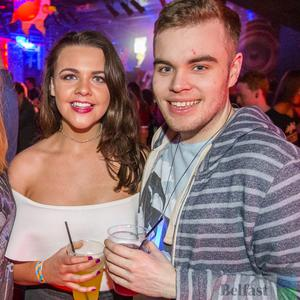 People out at Limelight for Sketchy Thursday 20th April 2017. Liam McBurney/RAZORPIX