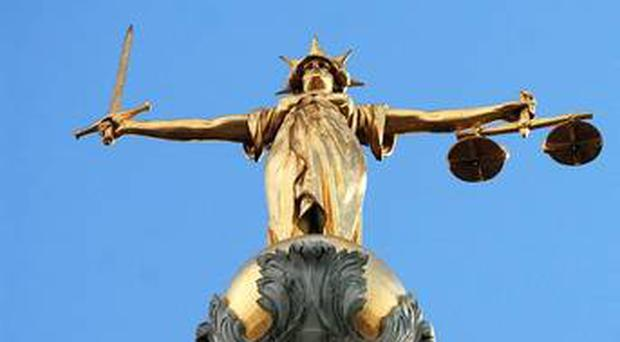 A man in custody after missing a court appearance is under a paramilitary threat issued by a relative, a court has heard