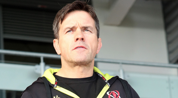 Wise head: Allen Clarke helped Ulster to see off Clermont