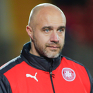 Exit door: Gerard Lyttle has left Cliftonville for Sligo Rovers