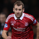 On a mission: Niall McGinn wants to help Aberdeen into the Scottish Cup final by seeing off Hibernian at Hampden Park