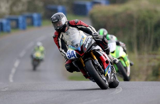 Italian rider Dario Cecconi who was critically injured in a crash at the 2017 Tandragee 100. April 17