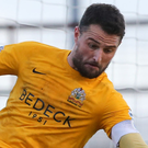 Challenge: Jonny Tuffey says Glenavon are shaping up well