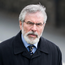 President of Sinn Fein Gerry Adams