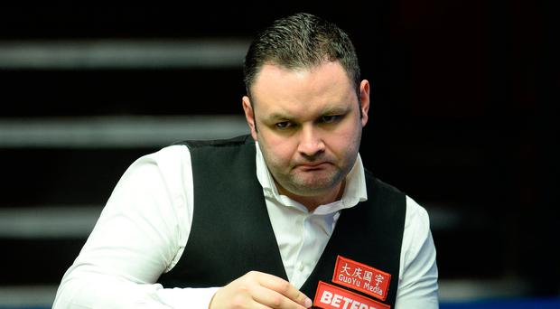 Confident: Stephen Maguire is through to the quarter-finals