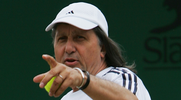 Outburst: Ilie Nastase has caused an uproar after swearing at the GB Fed Cup team and ranting at a journalist. Photo: Alex Livesey/Getty Images