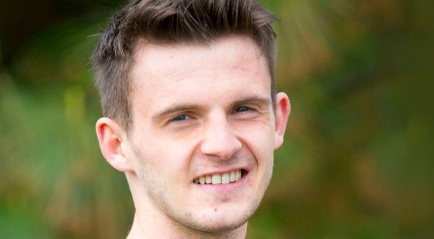 Vital campaign: Ulster University student Colin McKee