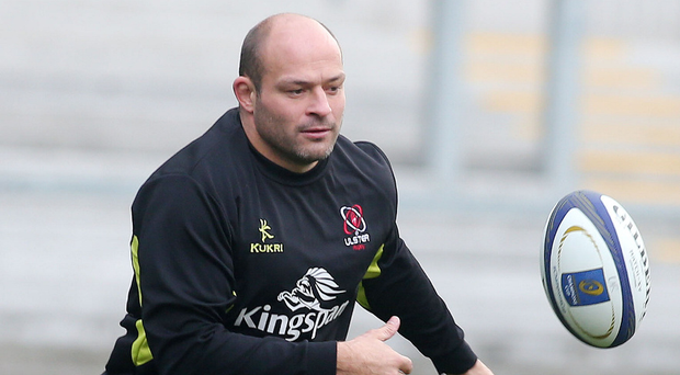 Next aim: Rory Best is out to play in a Test match for the Lions. Photo: Jonathan Porter/Presseye