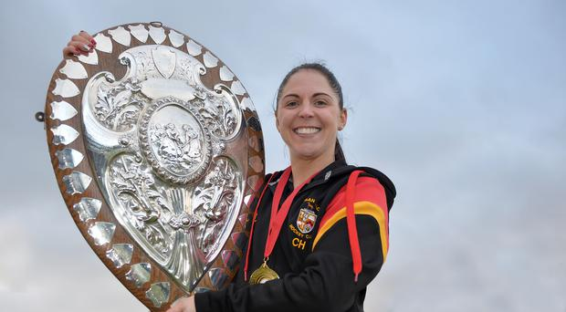 Huge loss: Lurgan skipper Charlene Hull will miss the IHL play-off