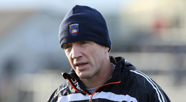 Big blow: Armagh manager Kieran McGeeney has been handed a proposed 12-week ban which could see him miss the Down game