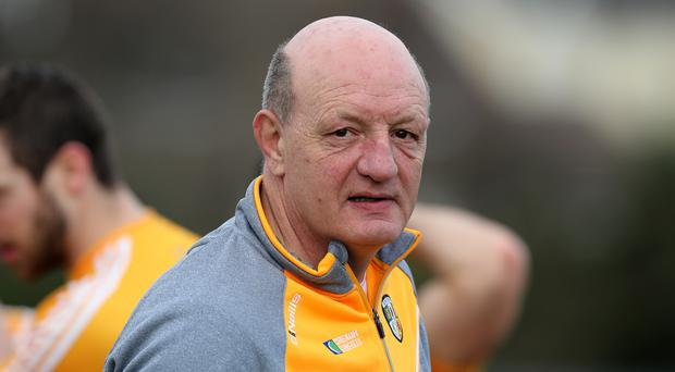 Straight: 'Sambo' tells it like it is as Antrim push continues