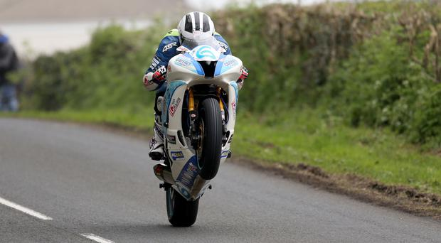 Tested: William Dunlop hopes to give his new 1000cc bike a good showing on the Orritor Circuit