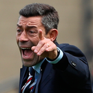 Low point: Pedro Caixinha was ashamed of toothless Gers