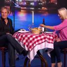 Michael Bolton and Christine on The Nightly Show.