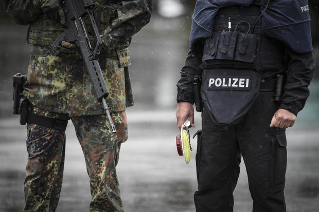 German army lieutenant arrested at a military facility in Hammelburg (File photo by Philipp Guelland/Getty Images)