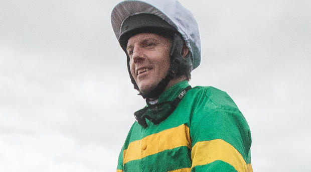 Knock-out success: Noel Fehily after winning on Unowhatimeanharry