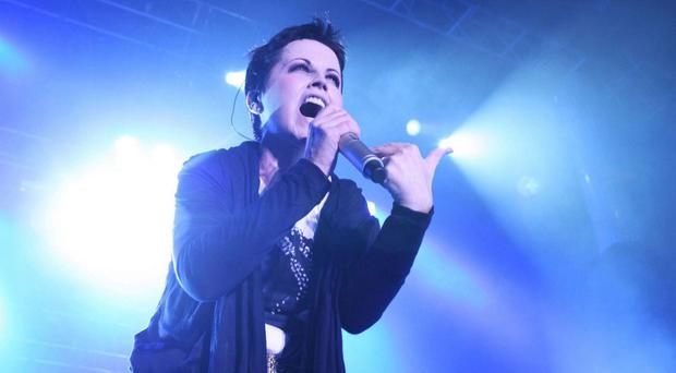 Return to form: Dolores O'Riordan, lead vocalist with the Cranberries