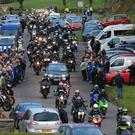 Dario Cecconi Lap of Honour - Tandragee 100 Photo by David Maginnis/Pacemaker Press