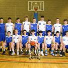 Star quality: the U18 and U16A teams with coaches Matthew Jackson and Adrian Fulton