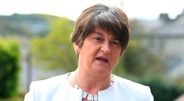 DUP leader Arlene Foster. Photo: Brian Lawless/PA Wire