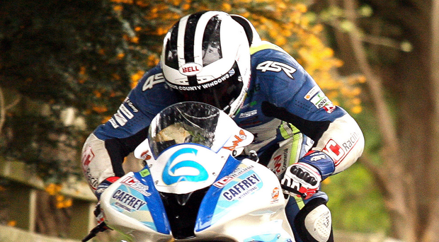 Big challenge: William Dunlop is aiming for glory at Cookstown