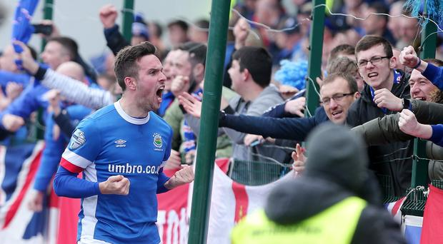 Linfield's Andrew Waterworth. Picture by Jonathan Porter/PressEye.com