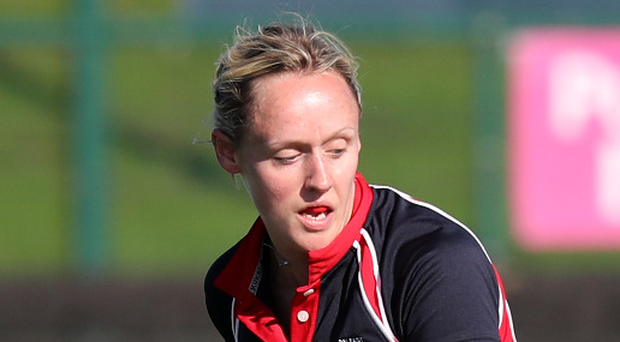Driving force: Claire Weir was key in Harlequins' victory