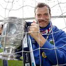 Gold standard: Roy Carroll has another medal for his collection